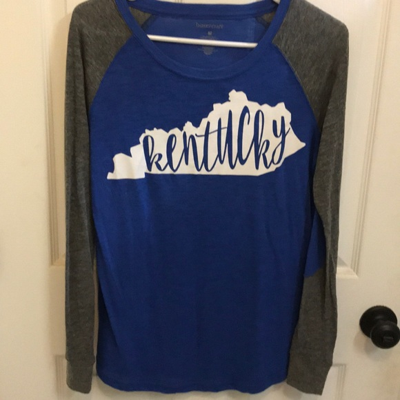 Boxercraft Tops - KY baseball tee